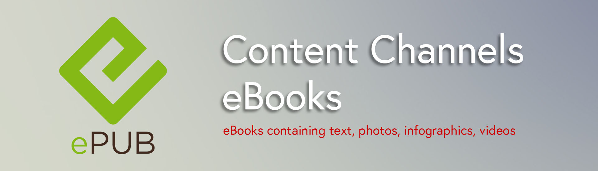 Content Channels - eBooks