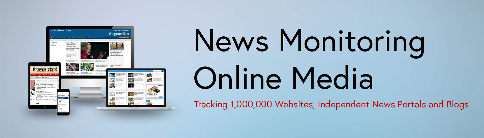 News Monitoring-Online Media