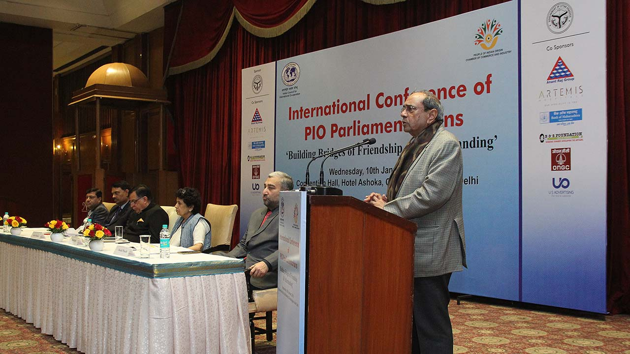 international conference of PIO PARLIAMENTARIANS on 10 JANUARY 2018 - New Delhi